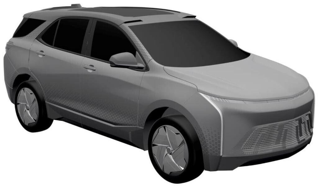 Судя по иллюстрациям, новинка будет выполнена в том же стиле, что и представленные ранее электрокары Chevrolet Bolt и Bolt EUV