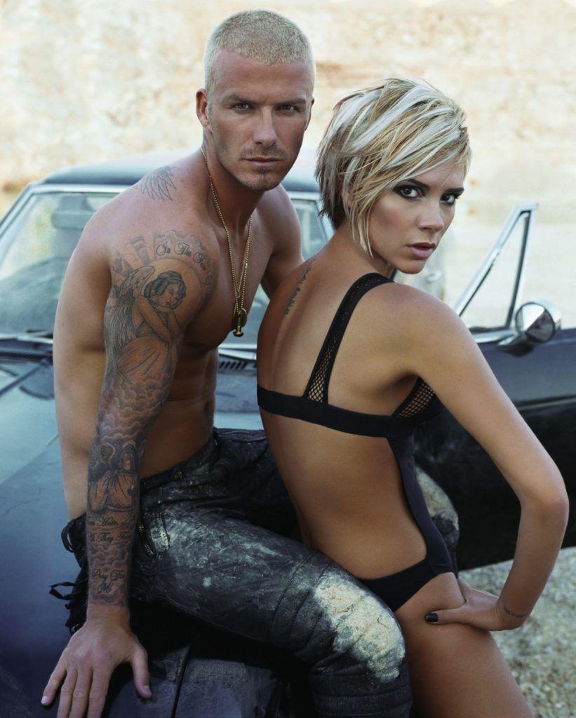 Девід і Вікторія Бекхеми в фотосесії для глянцю.