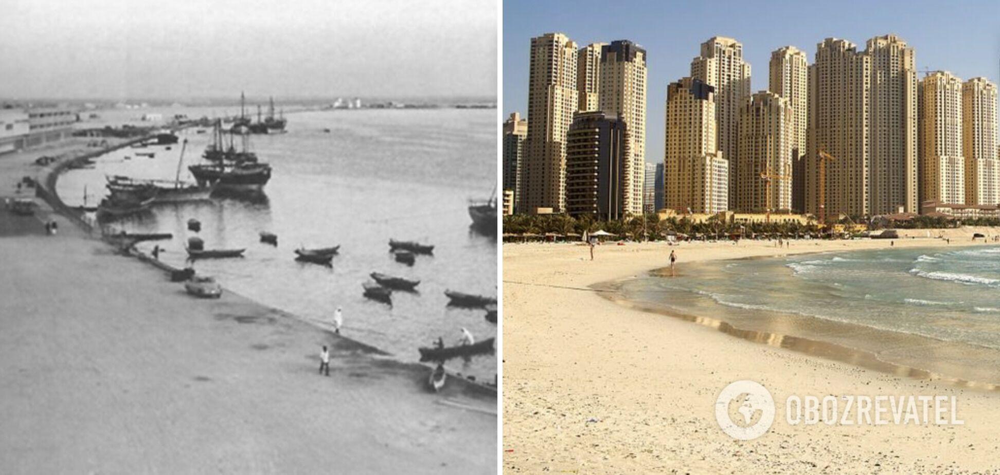 За десятки лет построили мегаполис Дубай в ОАЭ.