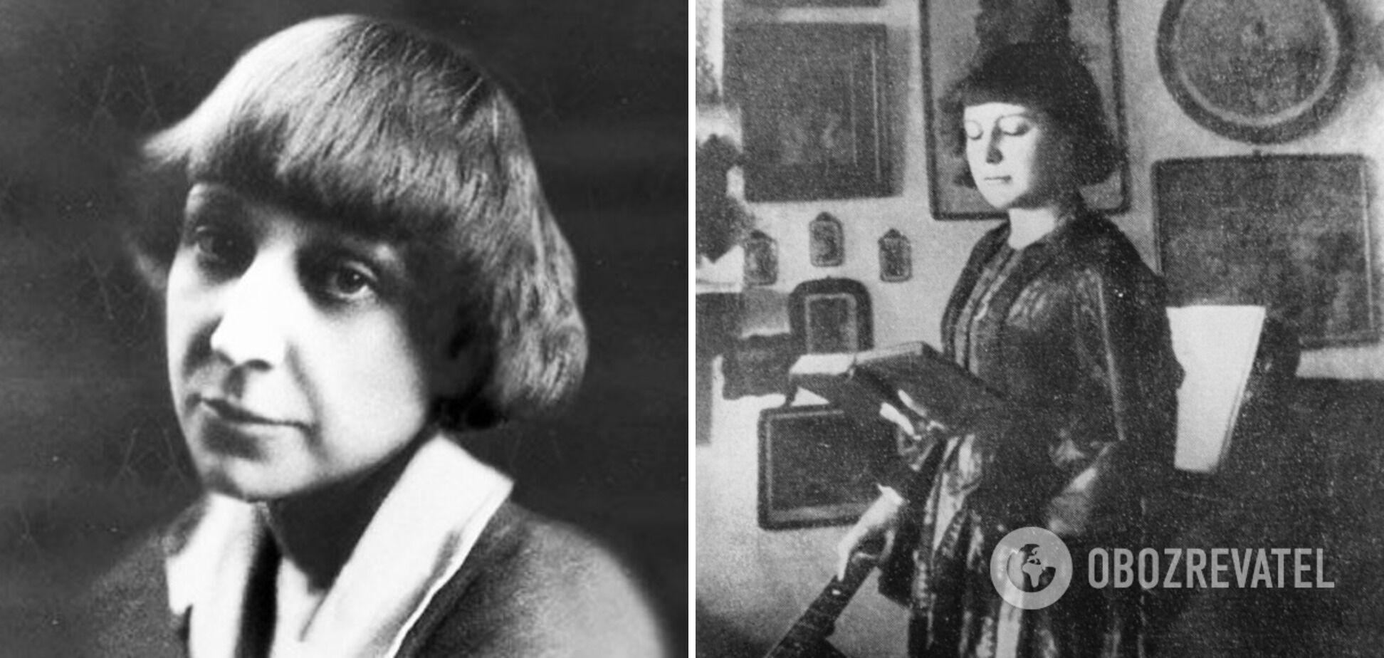Марина Цвєтаєва довгі роки жила у Європі