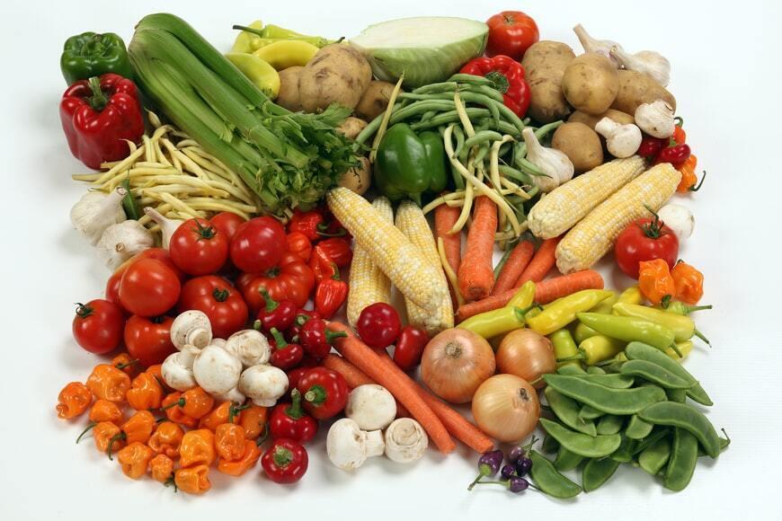 Усі овочі зеленого кольору – чемпіони за вмістом вітаміну В.