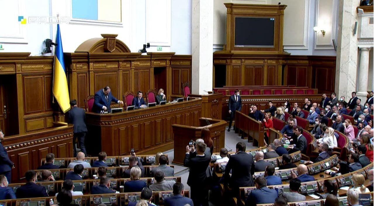 Під час розгляду питання про відставку Разумкова головував Гетманцев