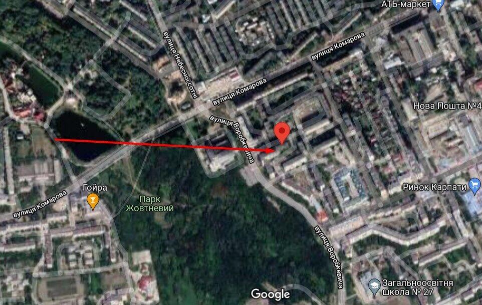Все происходило в доме по ул. Воробкевича в Черновцах