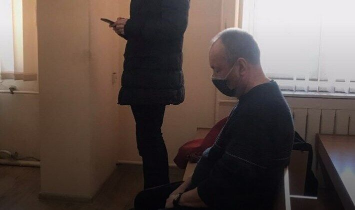 Юрий Бозуленко в суде.