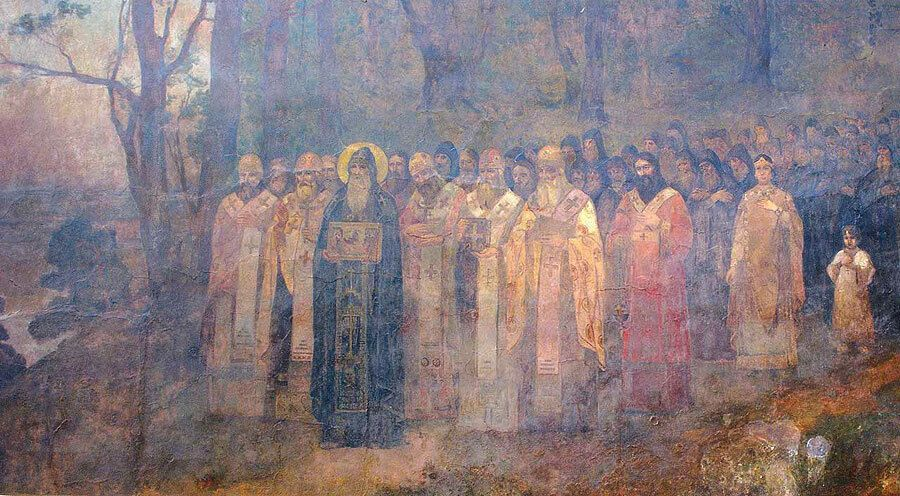 11 октября – Собор преподобных отцов Киево-Печерских, что в Ближних пещерах покоятся