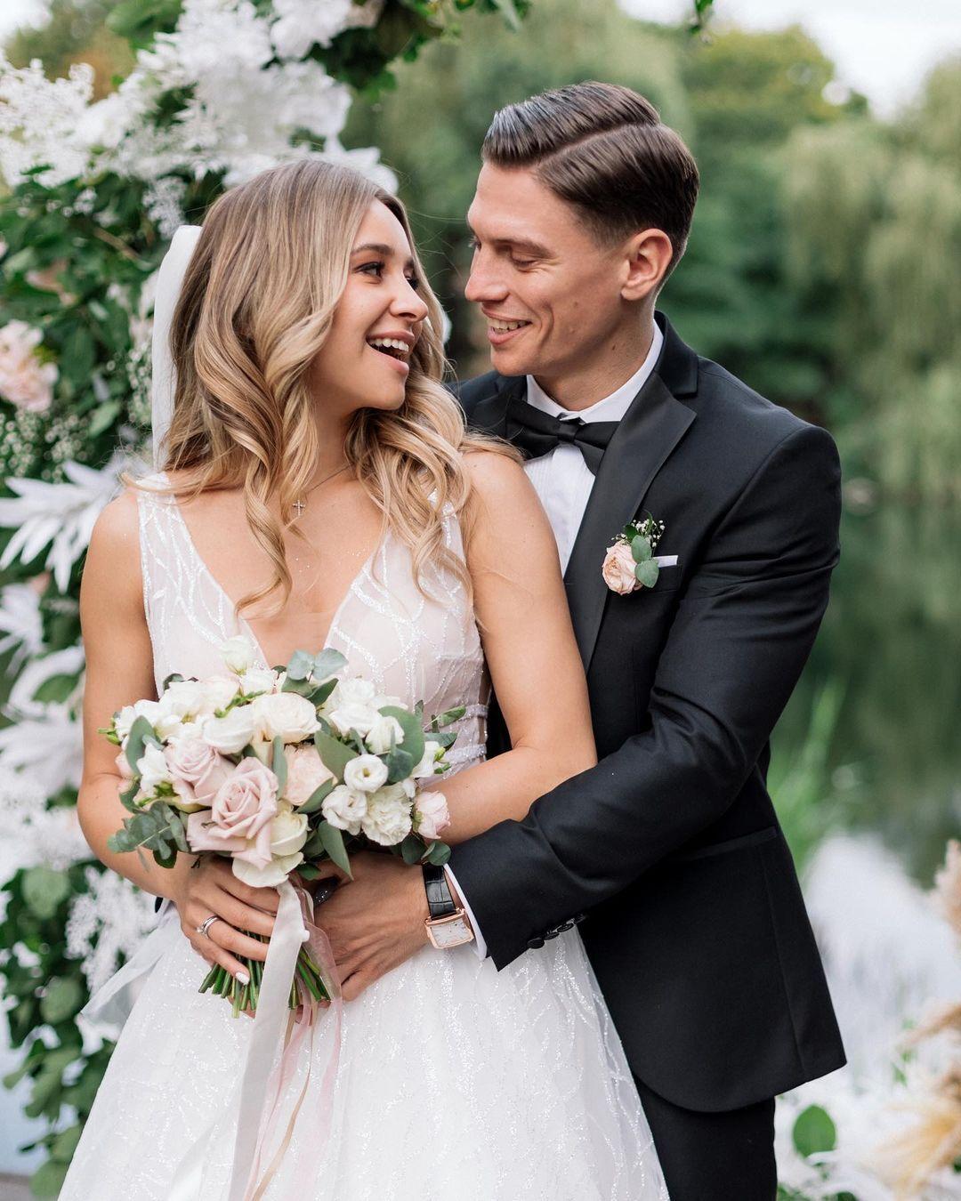 Анжелика Терлюга вышла замуж в 2021 году.