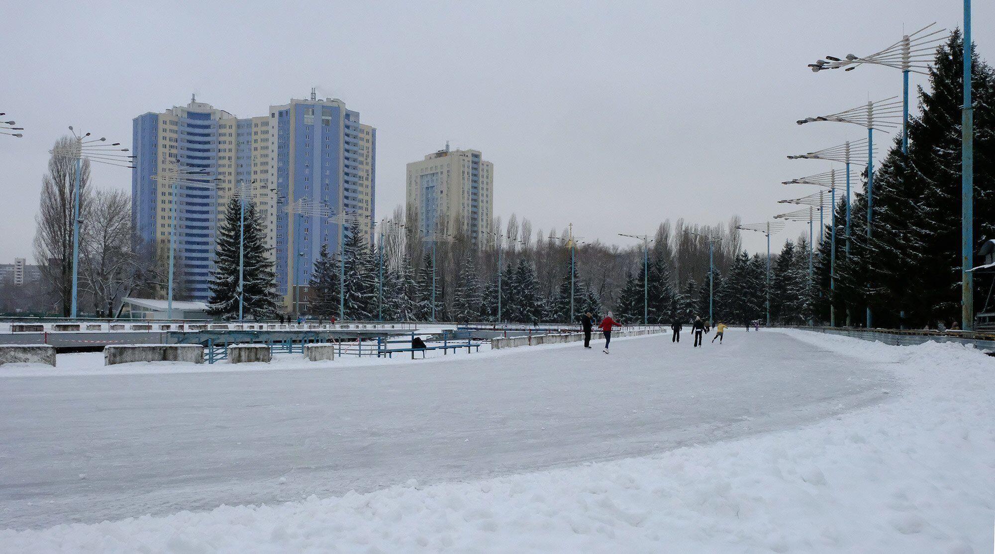 Ледовый стадион