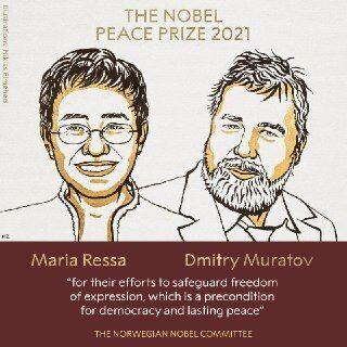 Лауреати Нобелівської премії миру в 2021 році