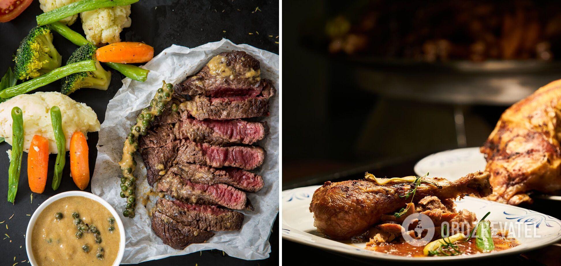 Мясо в запеченном виде