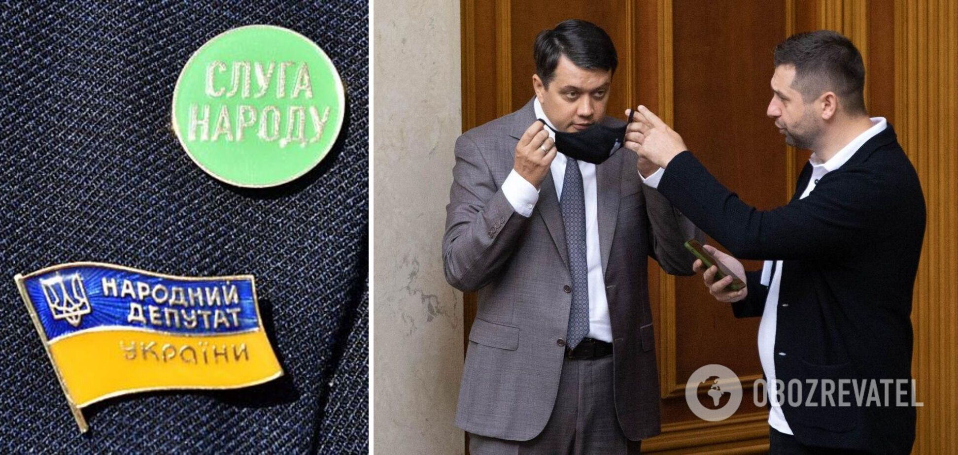 """Разумков був першим номером у партійному списку """"Слуги народу"""" на парламентських виборах у 2019 році"""
