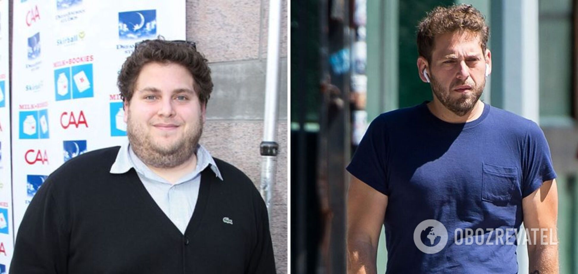 Джон Хилл похудел на 40 килограммов.