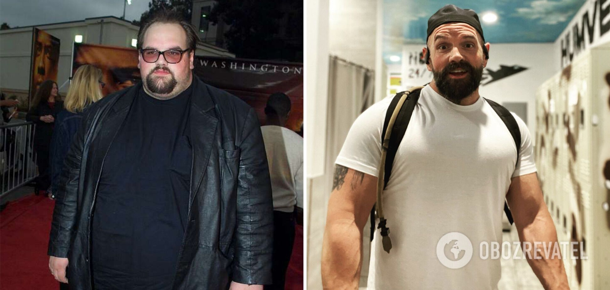 Итан Сапли похудел на 90 килограммов.