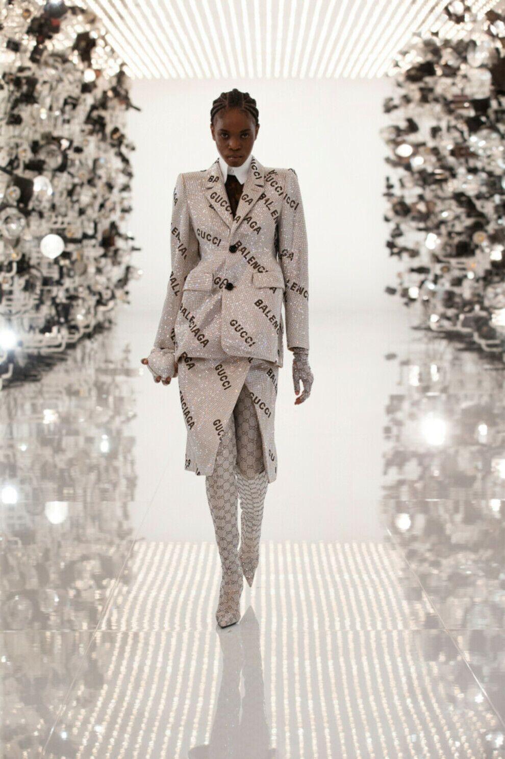 Модный показ Gucci