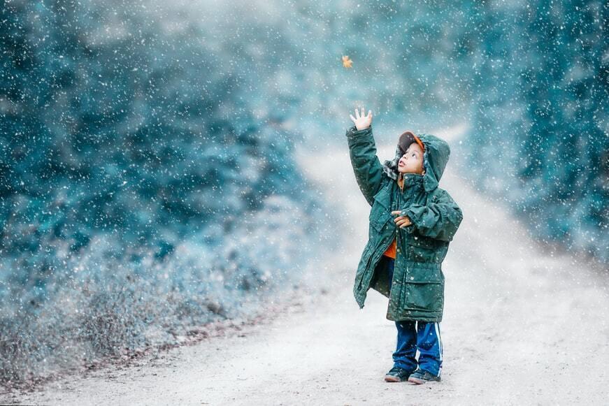 Білий колір допомагає пережити холодну пору року.