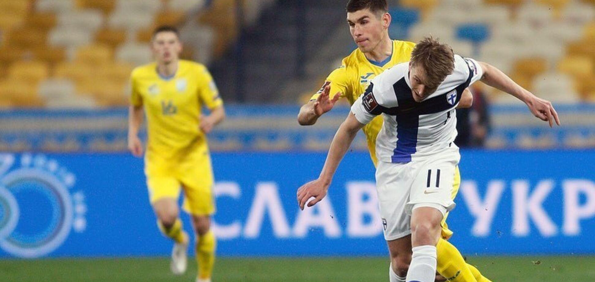 Україна в першому матчі не змогла обіграти Фінляндію