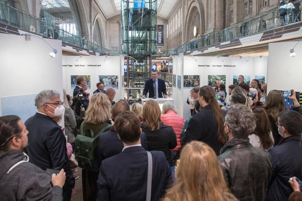 Торжества приурочены к 60 годовщине подписания Соглашения о побратимстве между Киевом и Лейпцигом