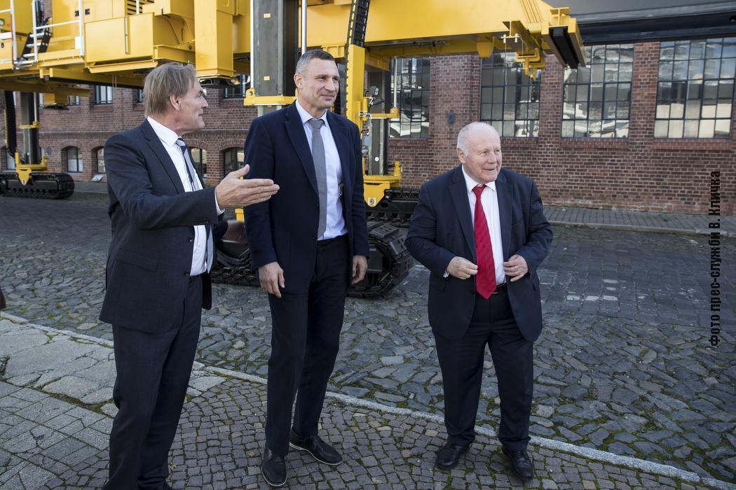 Кличко открыл Дни Киева в немецком Лейпциге