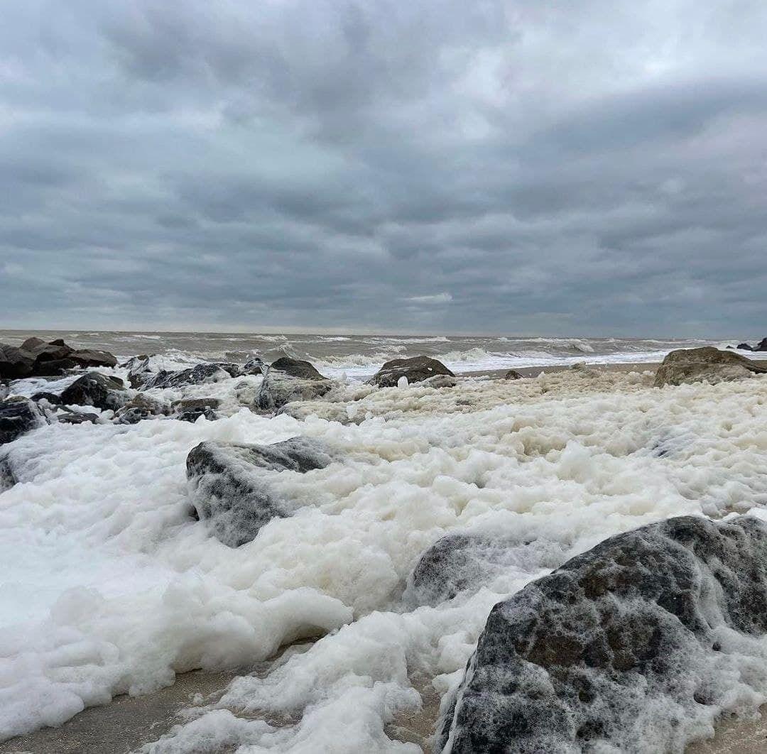 На море заметили редкий феномен.