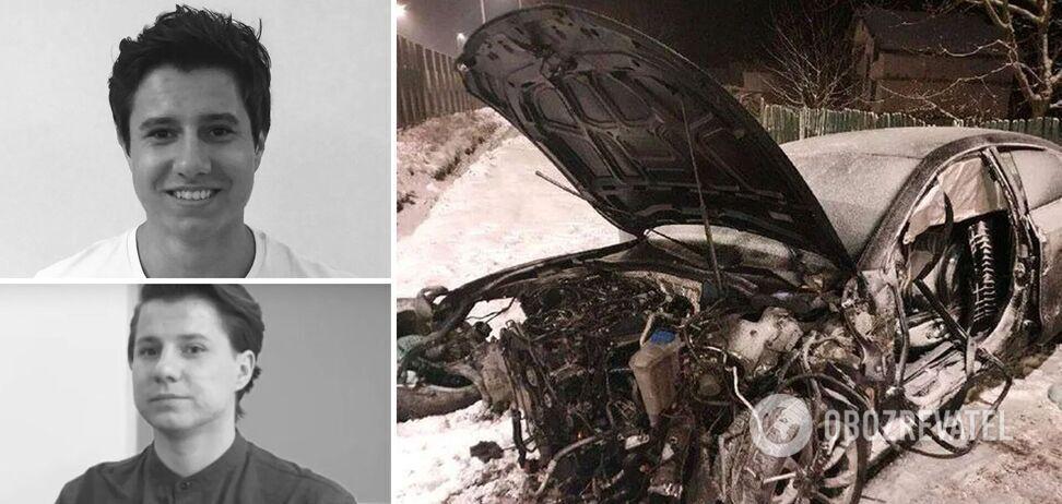 Один брат загинув на місці ДТП, другий – помер пізніше.