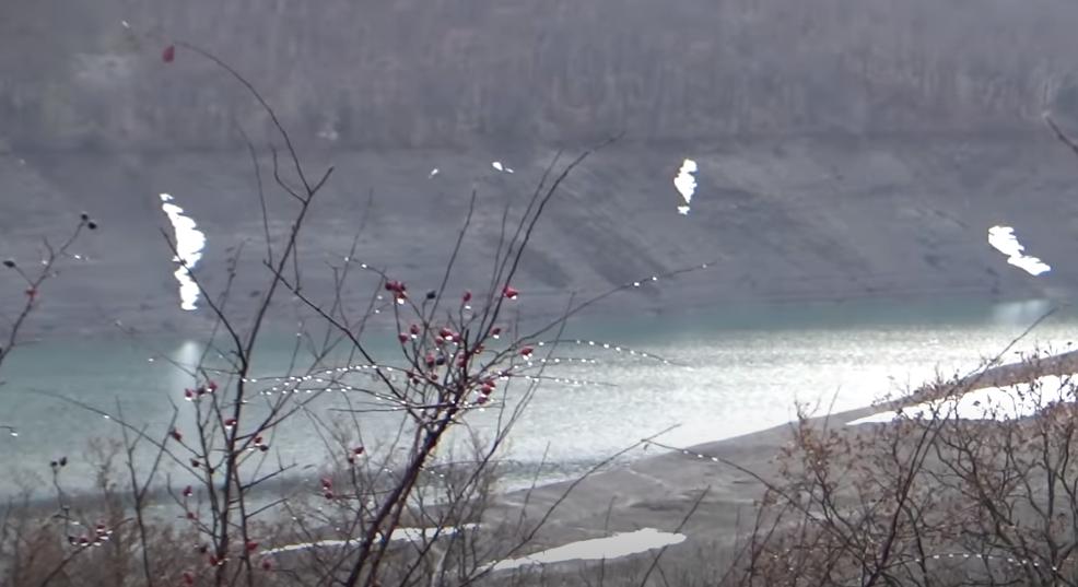 В Крыму высыхает водохранилище