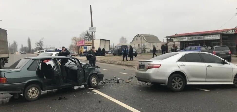 Водій ВАЗ загинув на місці аварії
