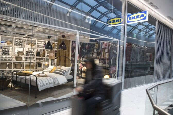 В планах шведской компании – открытие и последующих магазинов в Украине