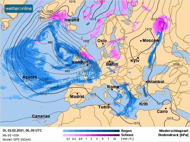 В Україні очікуються перепади температури