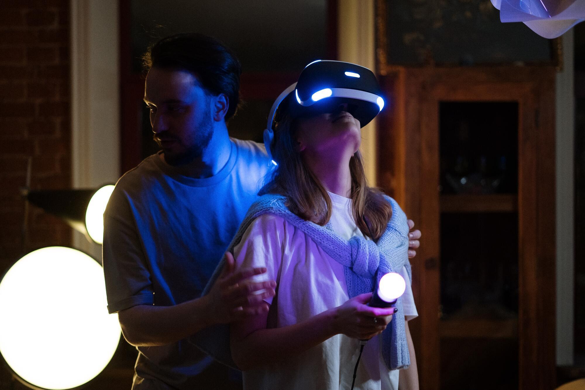 Игры в виртуальной реальности – развлечение, которое только набирает популярность в Украине.