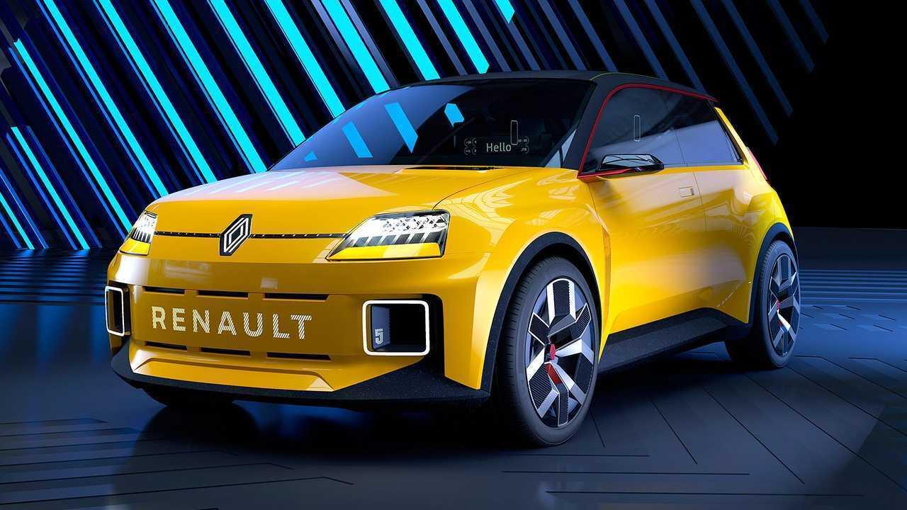 Renault 5, який має замінити популярну модель Twingo