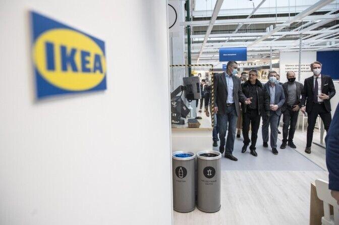 Тобиас Тиберг поздравил сотрудников, руководство IКЕА, городские власти Киева