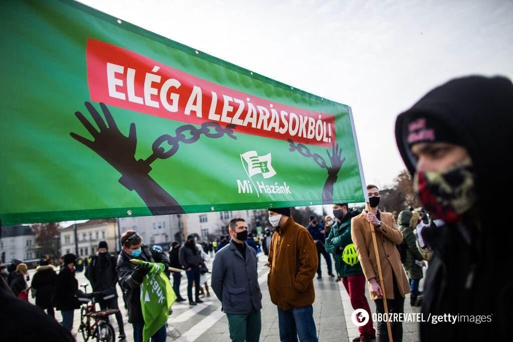 Правительство Венгрии ужесточило штрафы за нарушение карантина до 16,9 тысячи долларов США