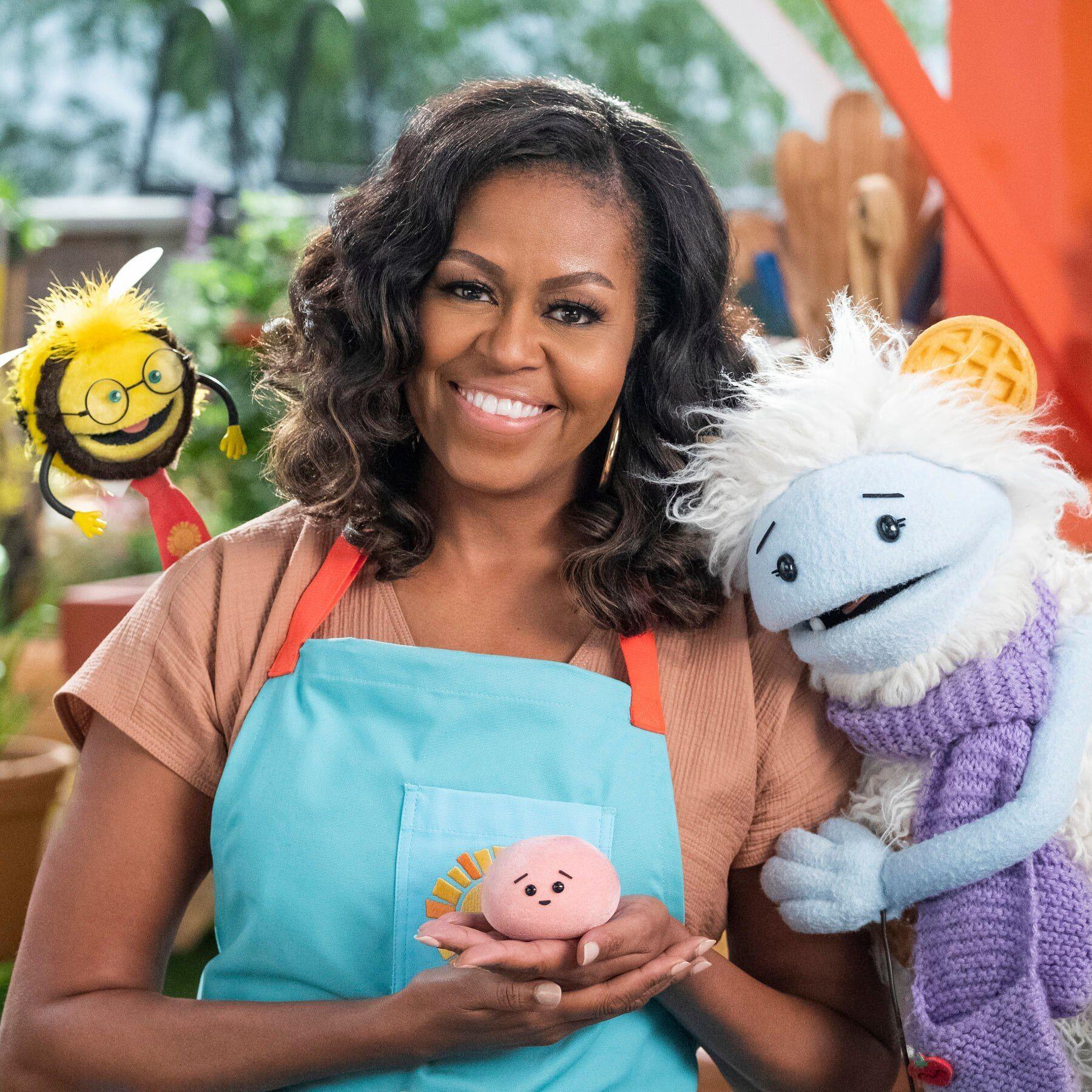 Новое детское шоу Мишель Обамы
