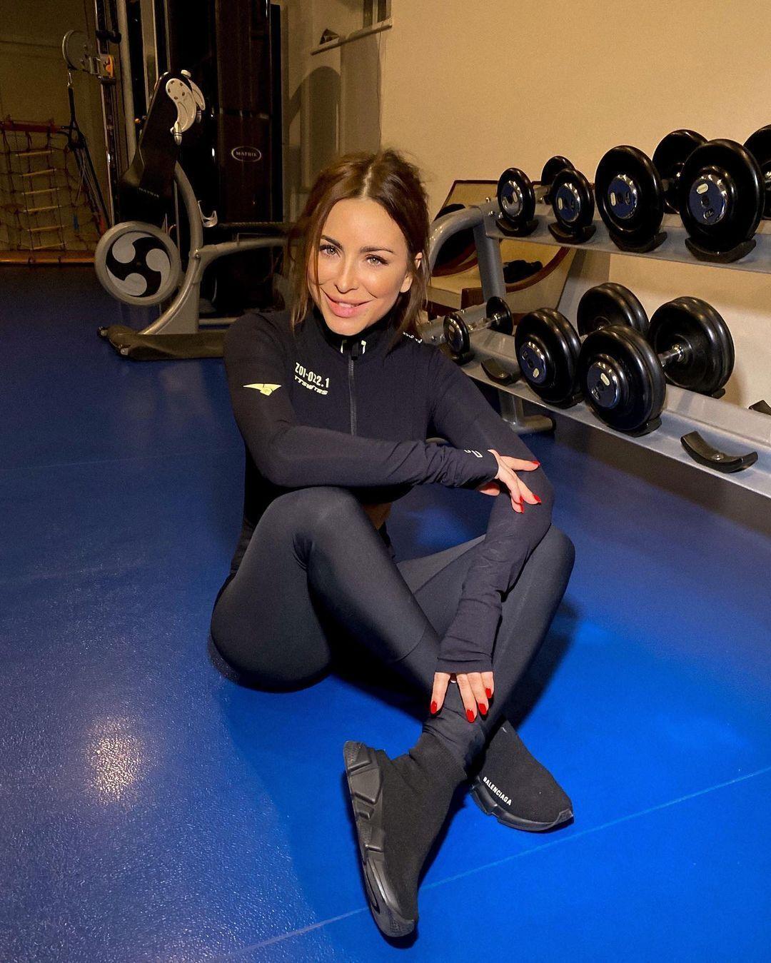 Ани Лорак рассказала о тренировках