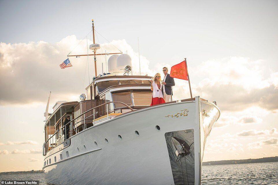Как выглядит легендарная яхта