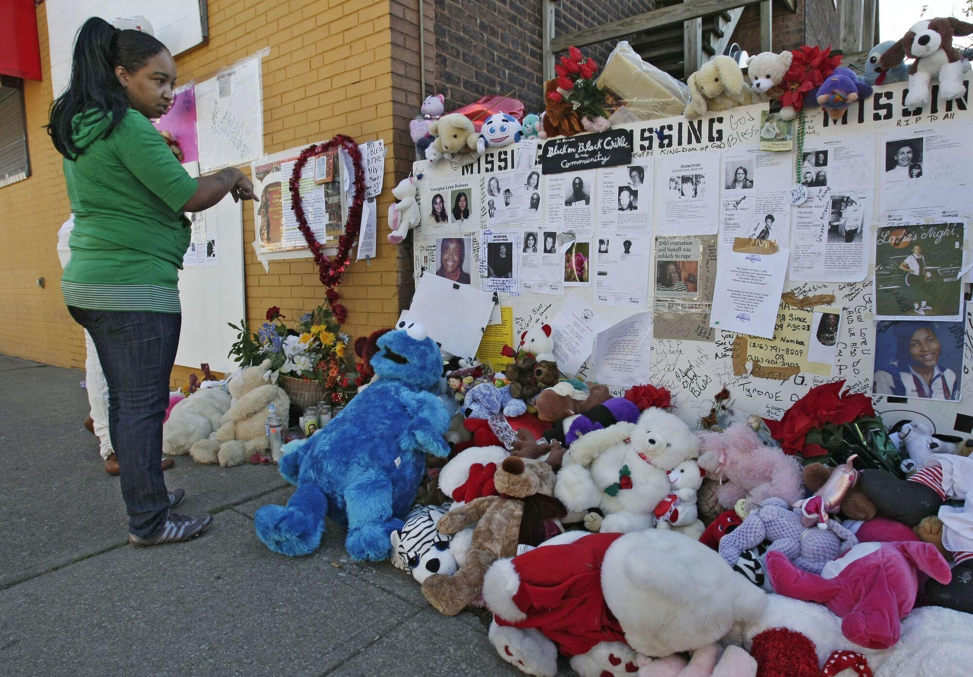 Мемориал в память жертв Кливлендского маньяка