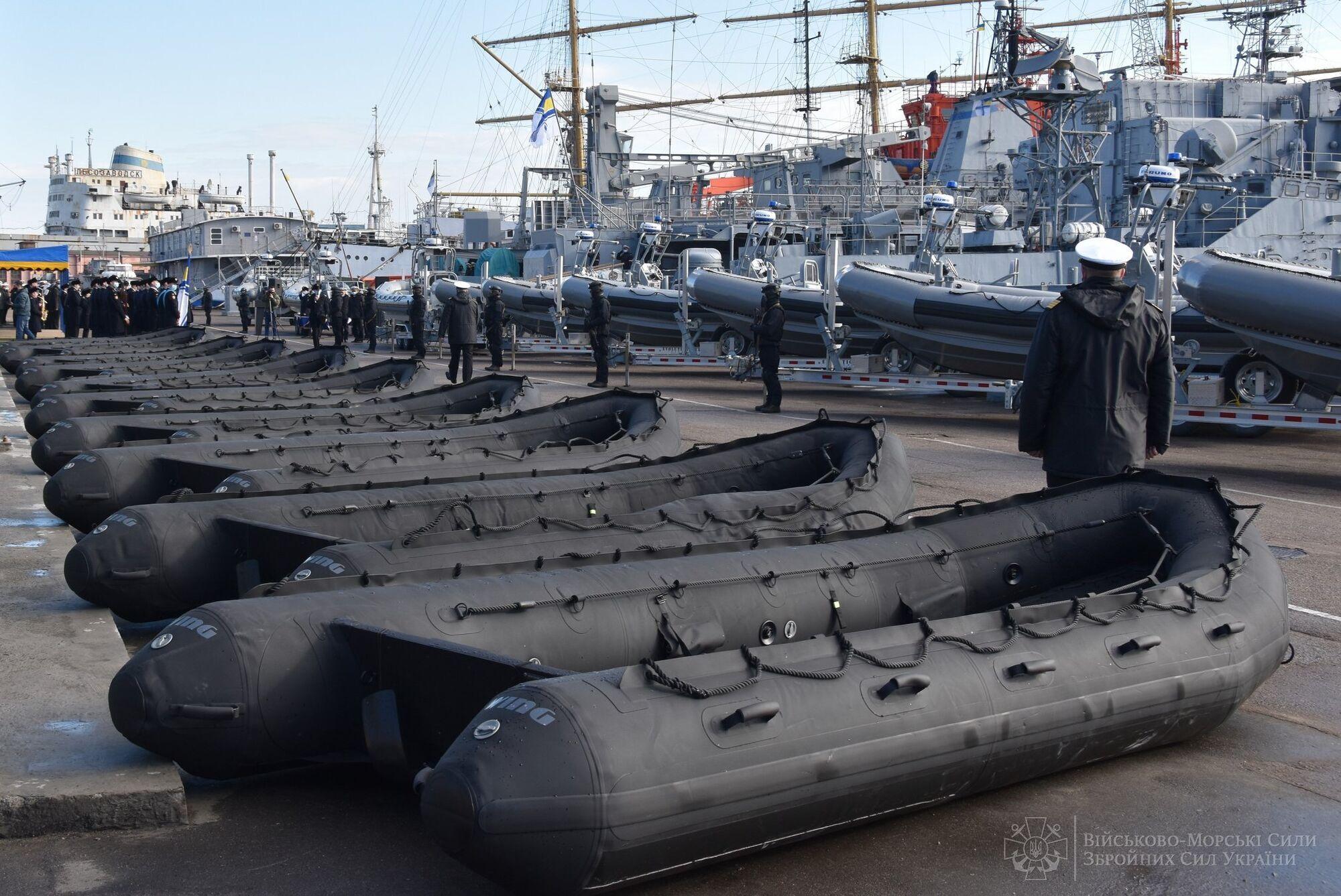 Лодки, которые передали Украине