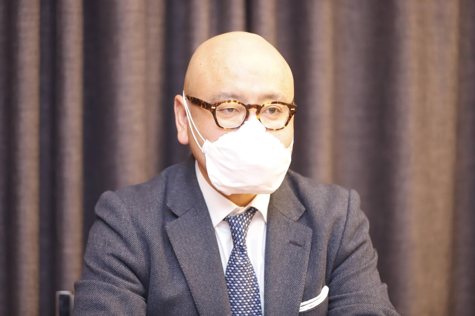 "Глава представительства компании ""Marubeni Corporation"" в Украине Акияма Тэцуо"