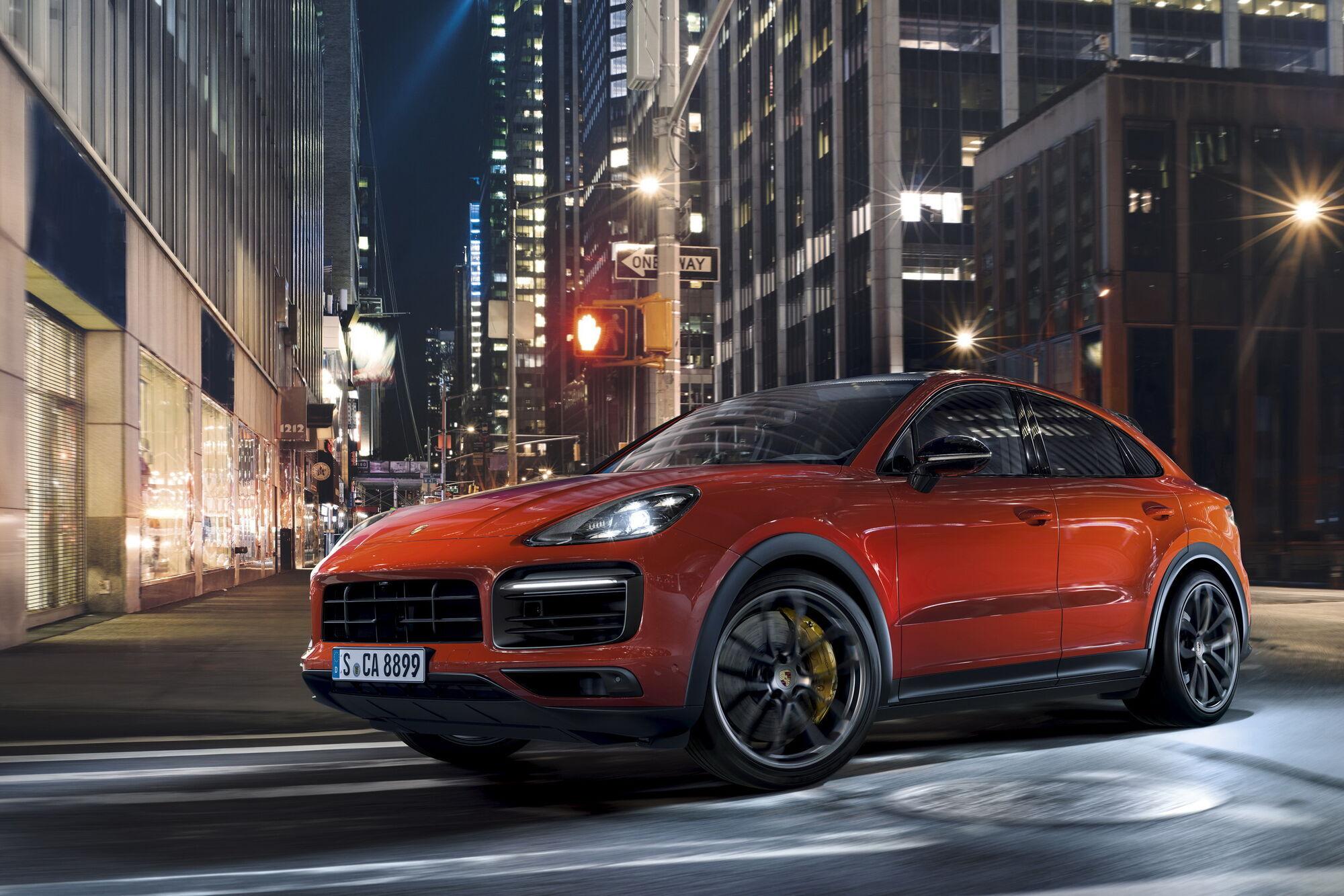 Porsche Cayenne Coupe SportDesign Package.