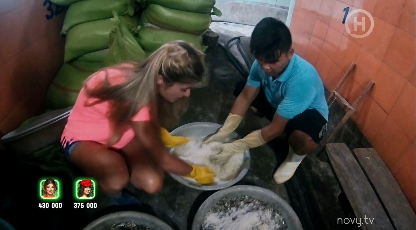 Кошман устроилась работать на производство рыбного соуса