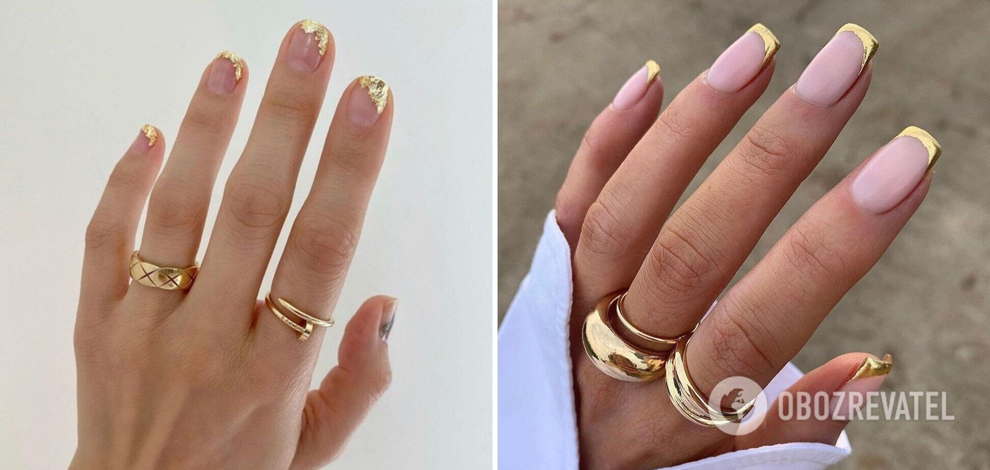Игра с цветами на ногтях