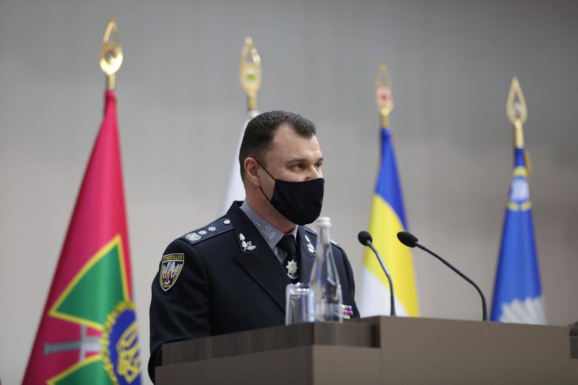 Глава НПУ Ігор Клименко