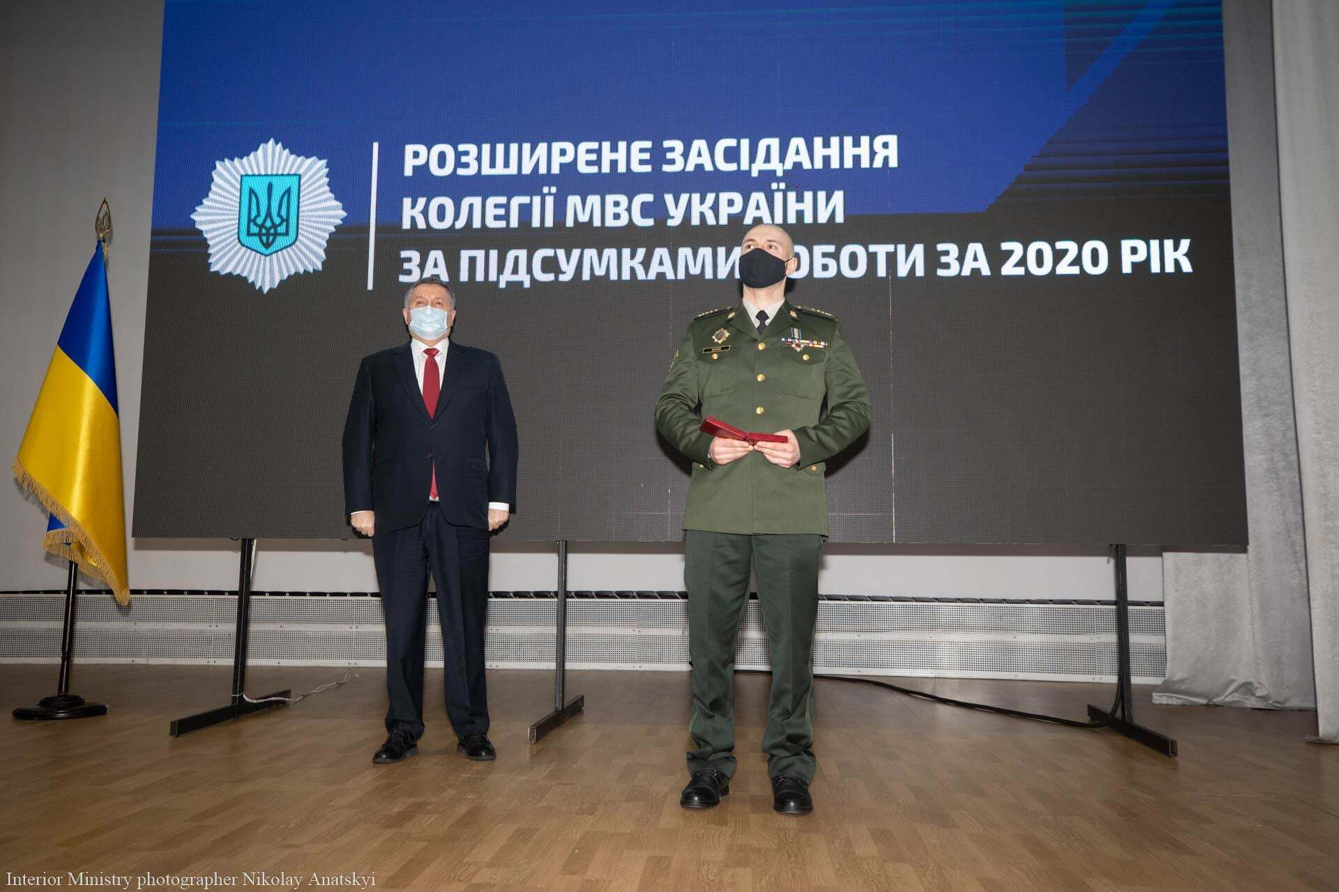"""Марківа нагороджено орденом """"За мужність"""" ІІІ ступеня"""