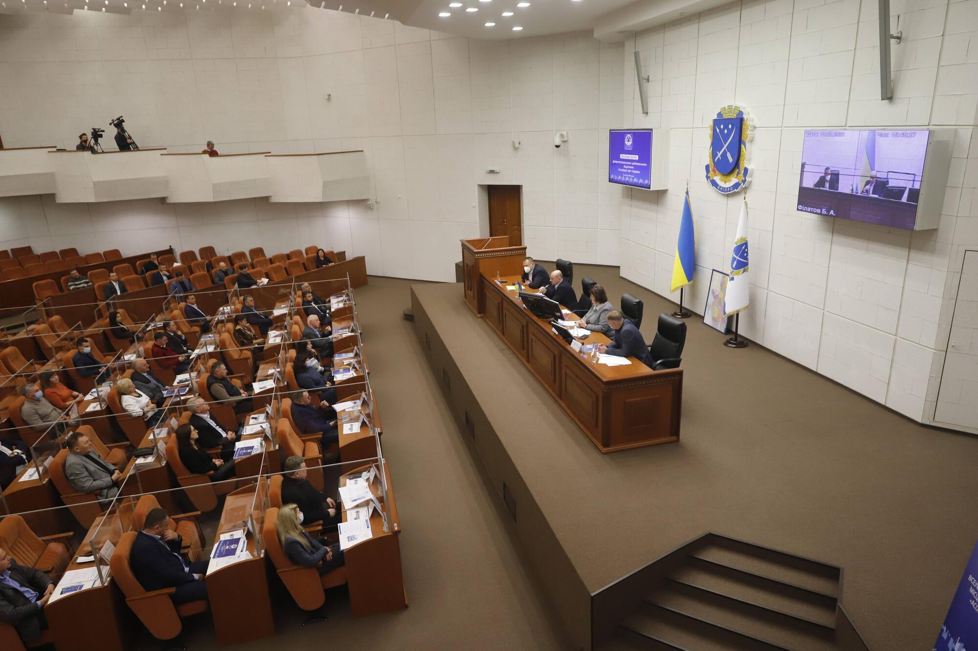 Мэр Днепра добавил, что имеет конструктивные отношения с лидерами украинских территориальных общин