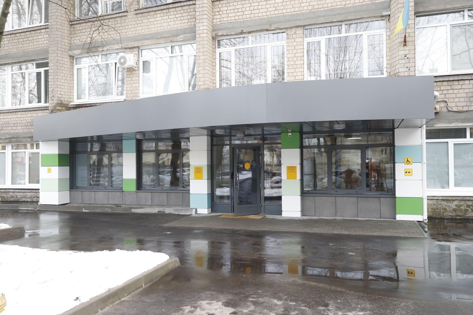 В Днепре отремонтировали амбулаторию медцентра № 2