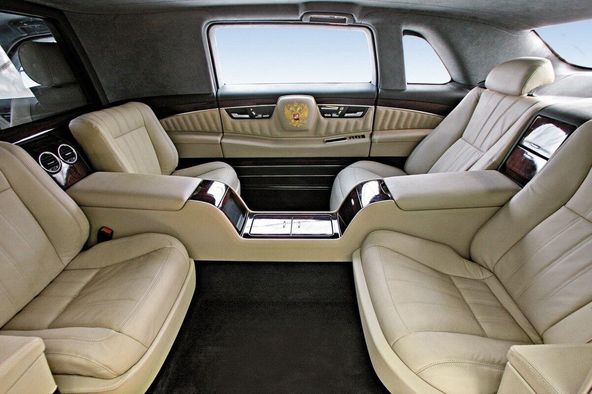 Автомобіль для Путіна створювали кілька років.