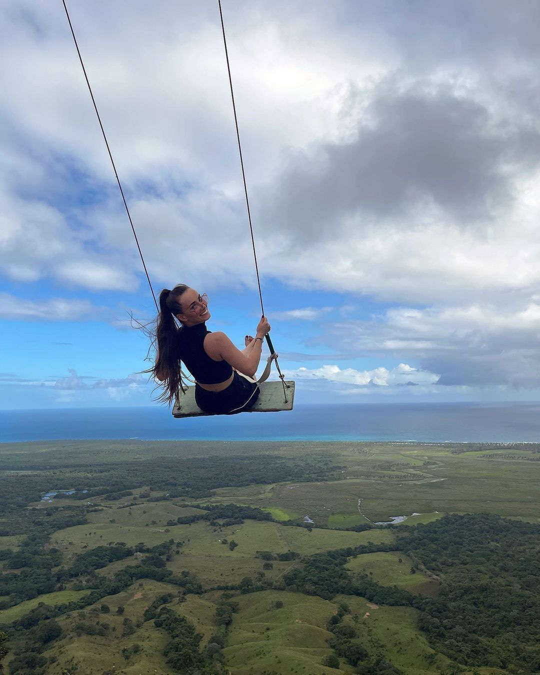 Мишина на высоте в Доминикане