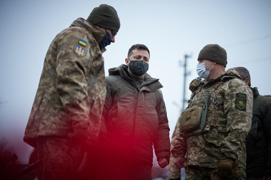 Президент посетил Донецкую область