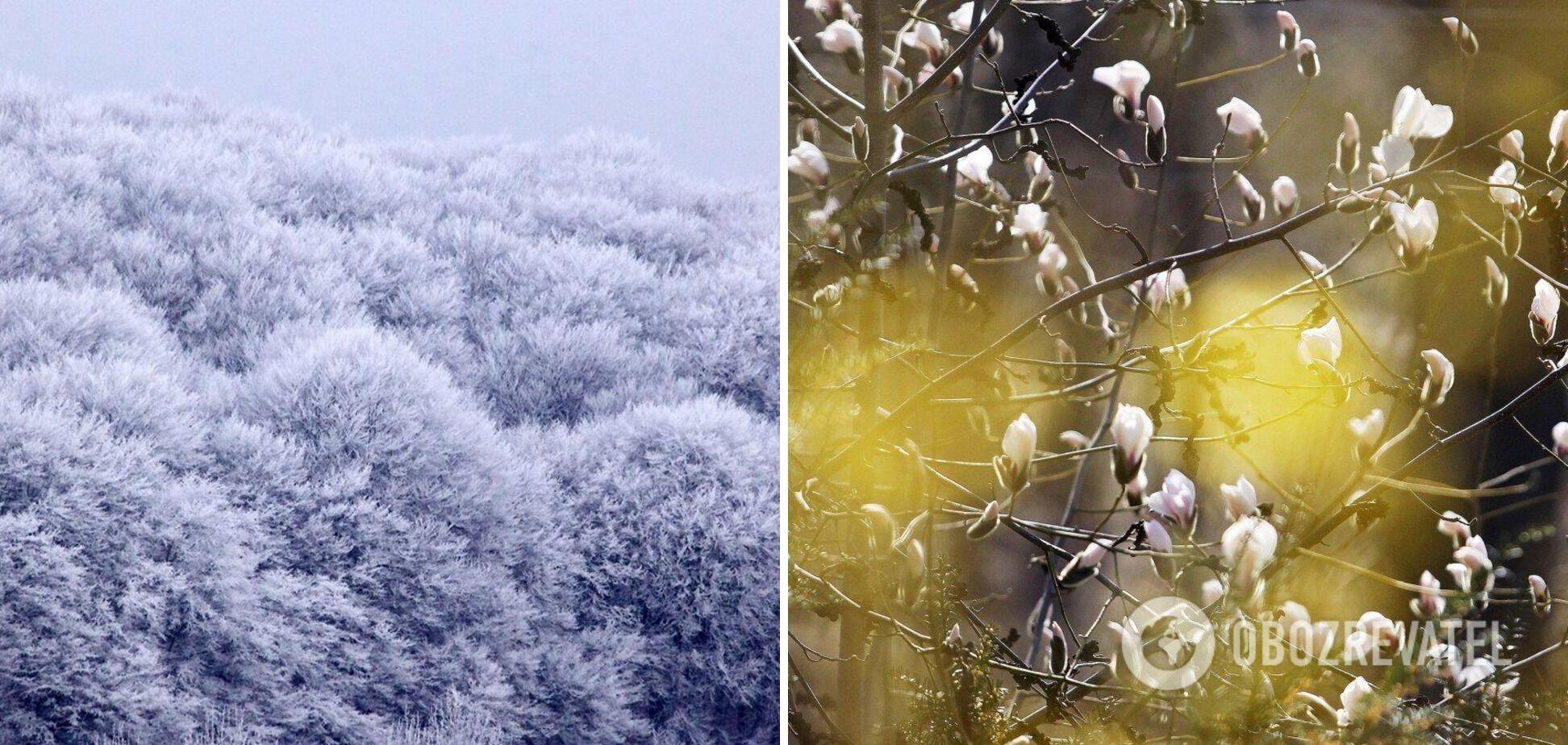 На вчасний прихід весни українцям не варто сподіватися – до травня буде прохолодно