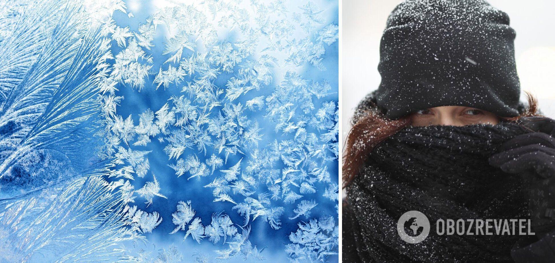15-18 лютого в Україну прийде сильний мороз