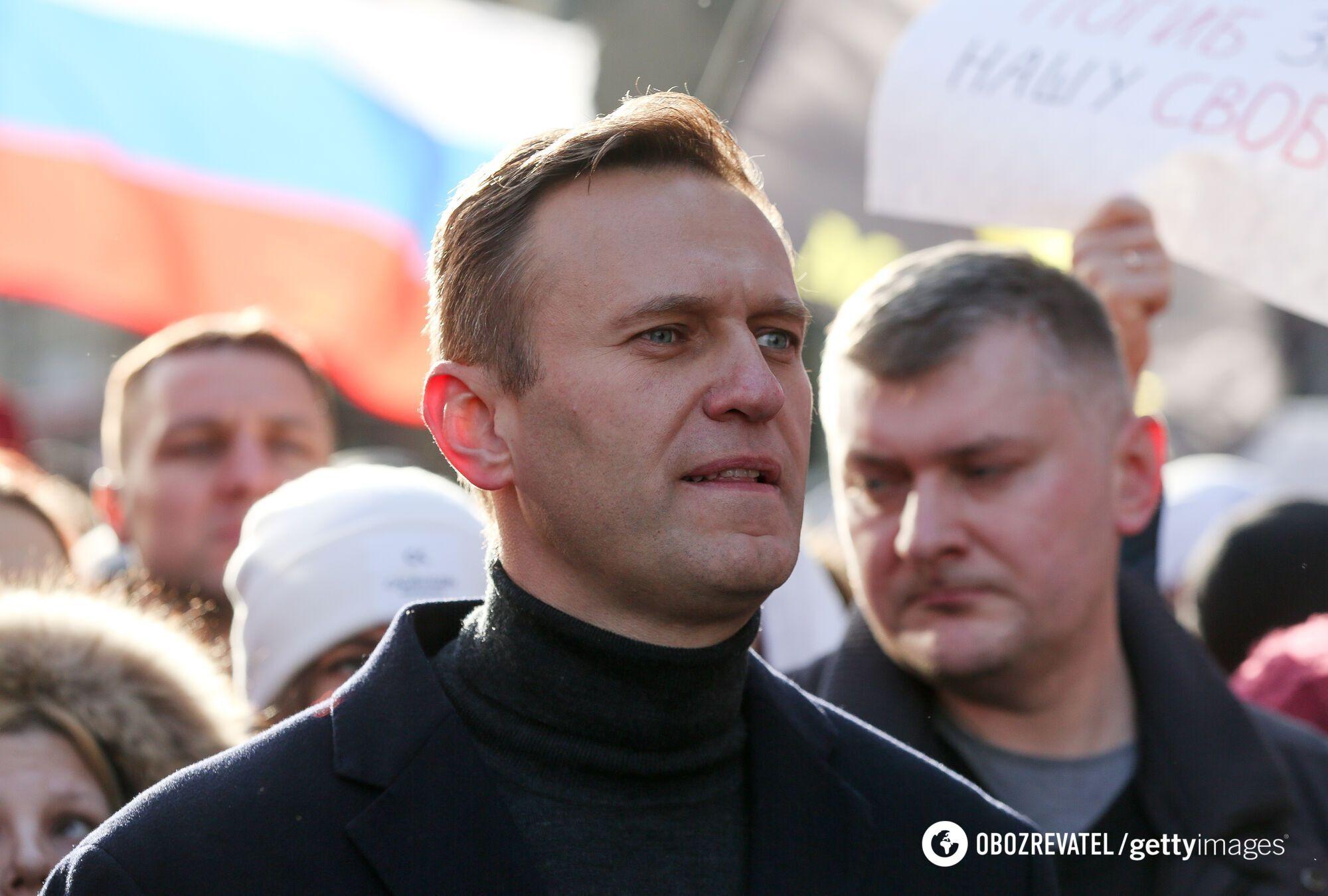 Российский оппозиционер Алексей Навальный может провести за решеткой 2,8 года